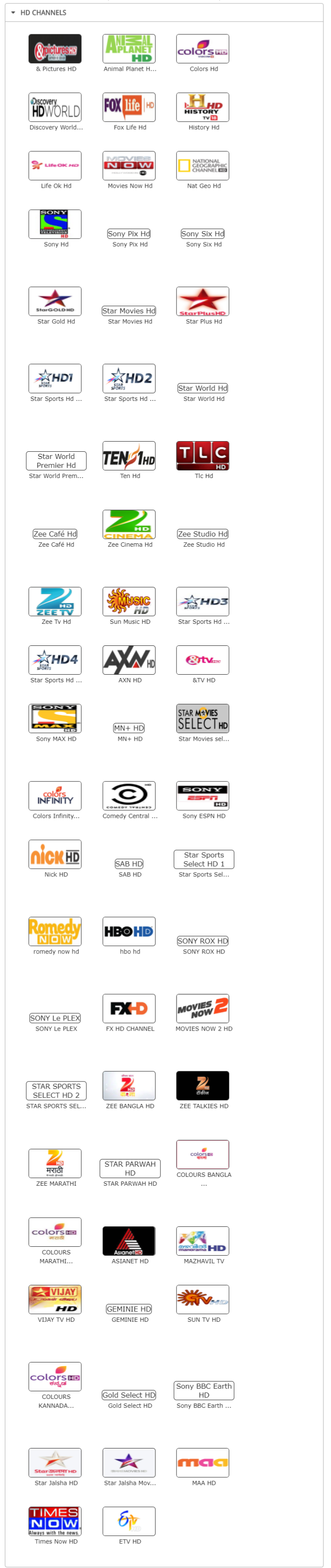 myfamily-hd-channels